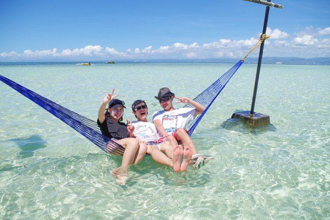 ナルスアン島でのんびりしているイメージができる写真