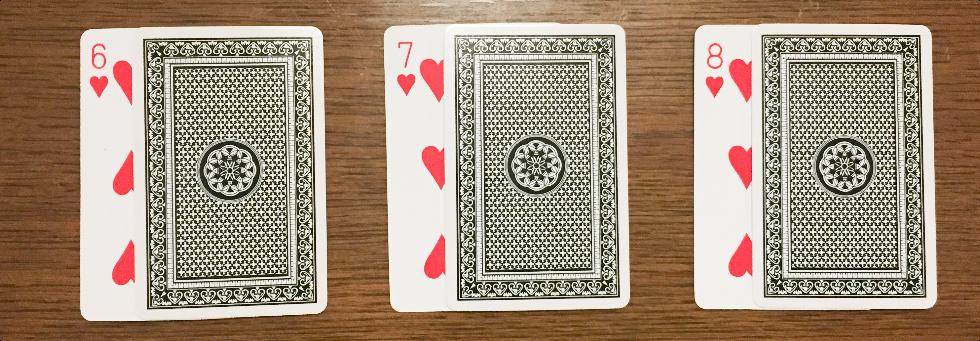 カードのマーク