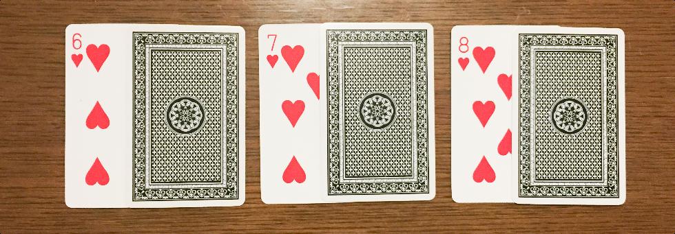 カードのマーク見え方