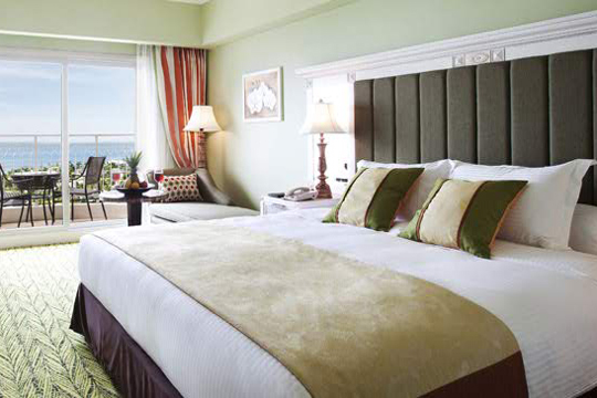 Jパークホテルの部屋