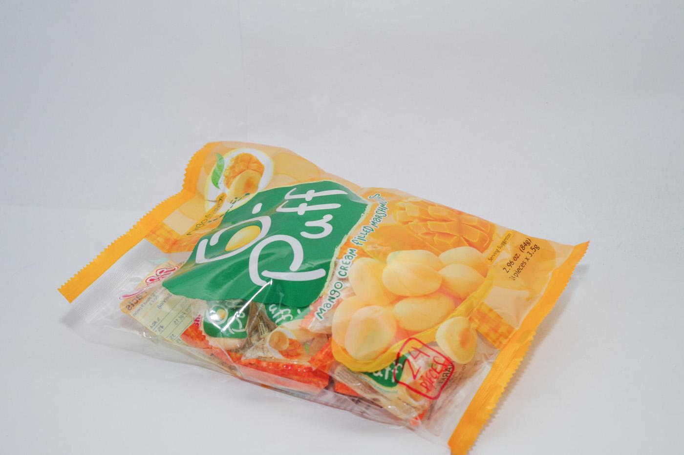 マンゴーマシュマロのパッケージ