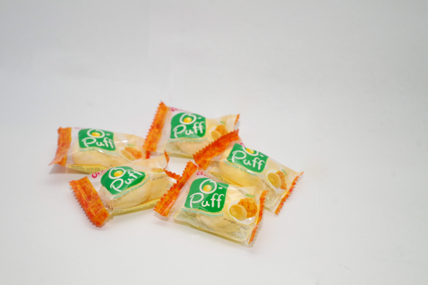 個包装のマンゴーマシュマロ