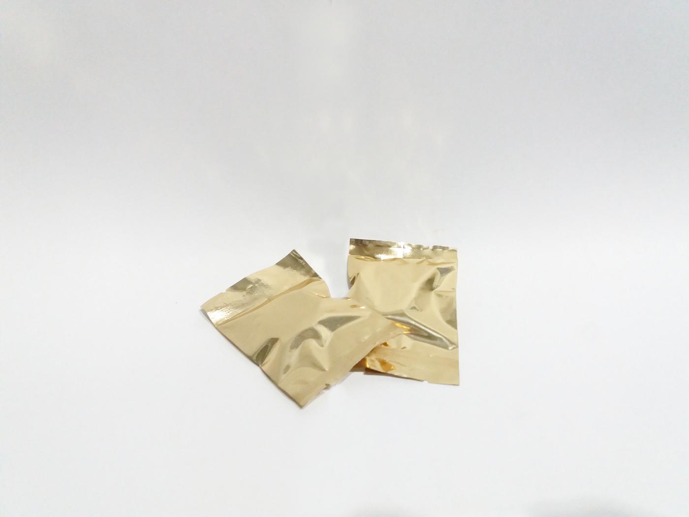 マンゴー味のポルボロンの袋の写真