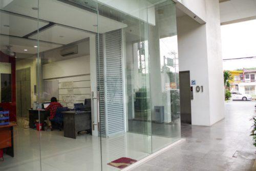 ホテルコペンハーゲンレジデンス内にあるESTEJapanのオフィス