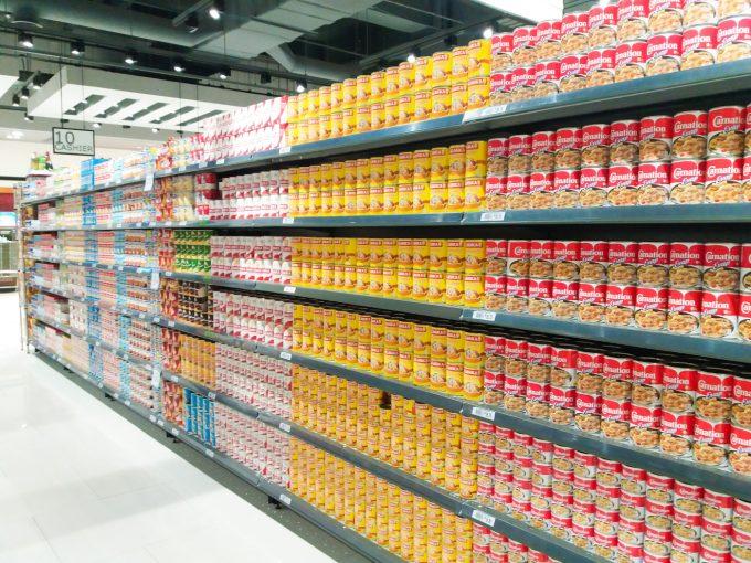 ロビンソンガレリア内のスーパーの写真