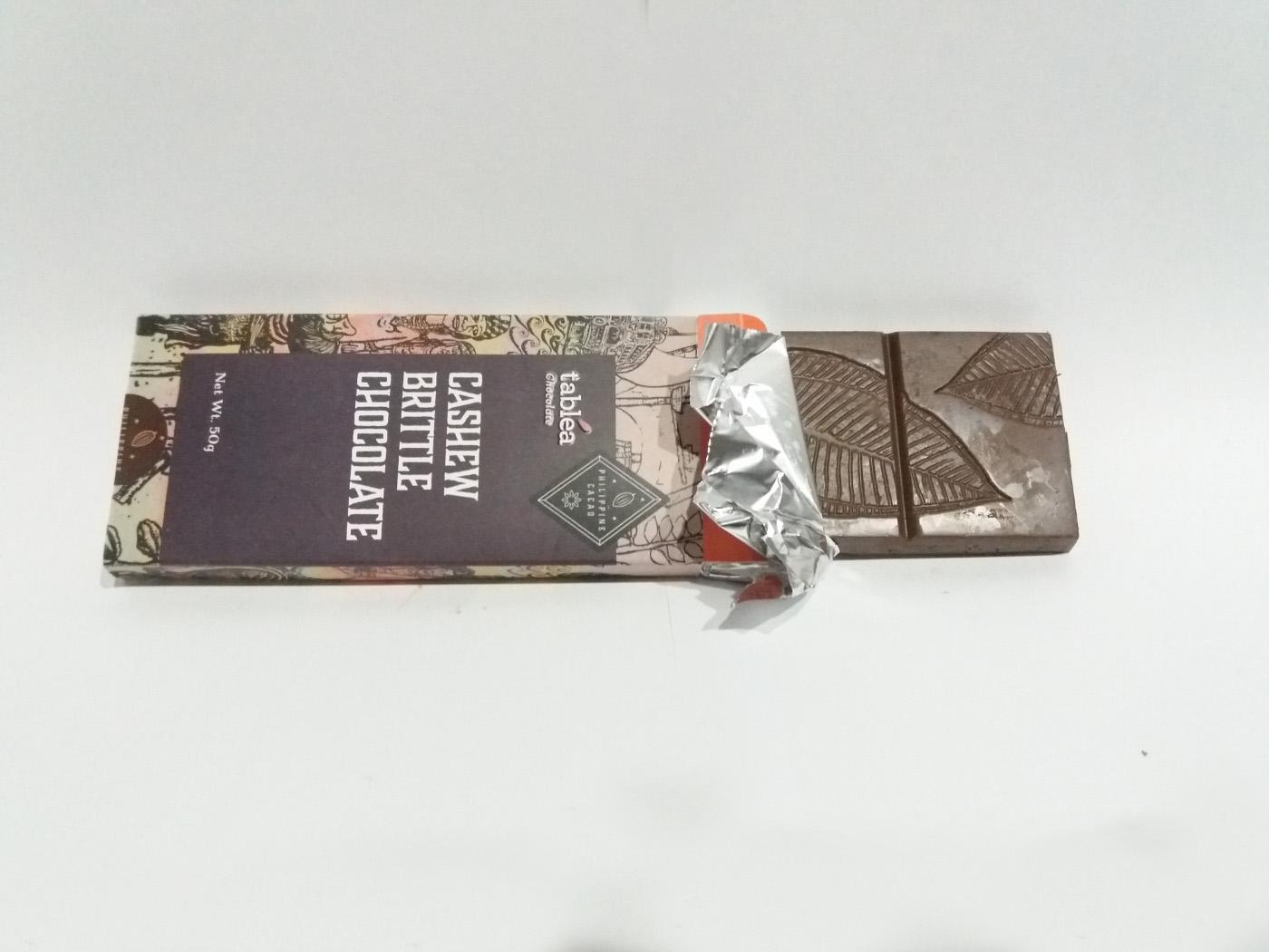 タブレアチョコレートのカシューブリットルの写真