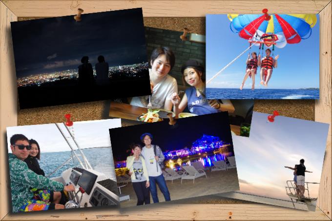 カップルのセブ3泊4日旅のトップ画像