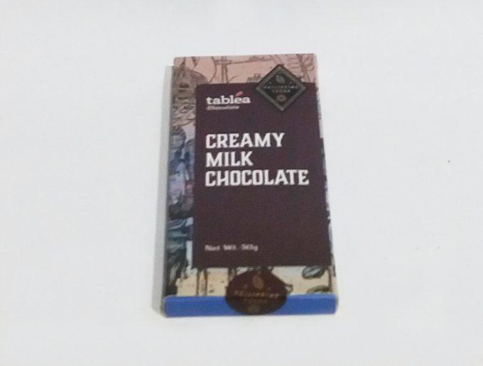 タブレアチョコレートのクリーミーミルクの写真