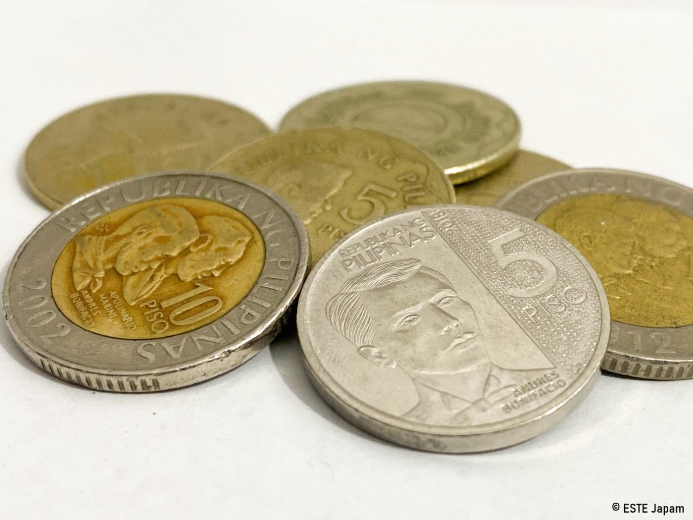 お釣りのコインのイメージ