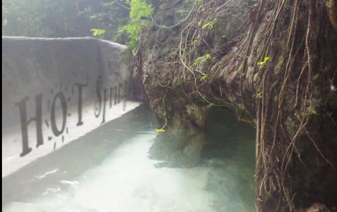 キャットモンの温泉