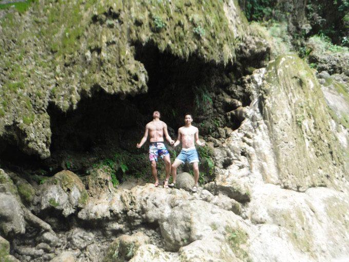 ツマログ滝での記念写真2
