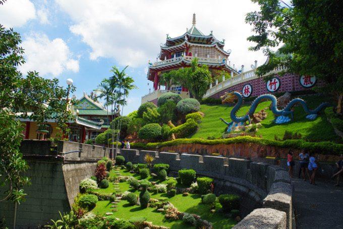 道教寺院の外観写真