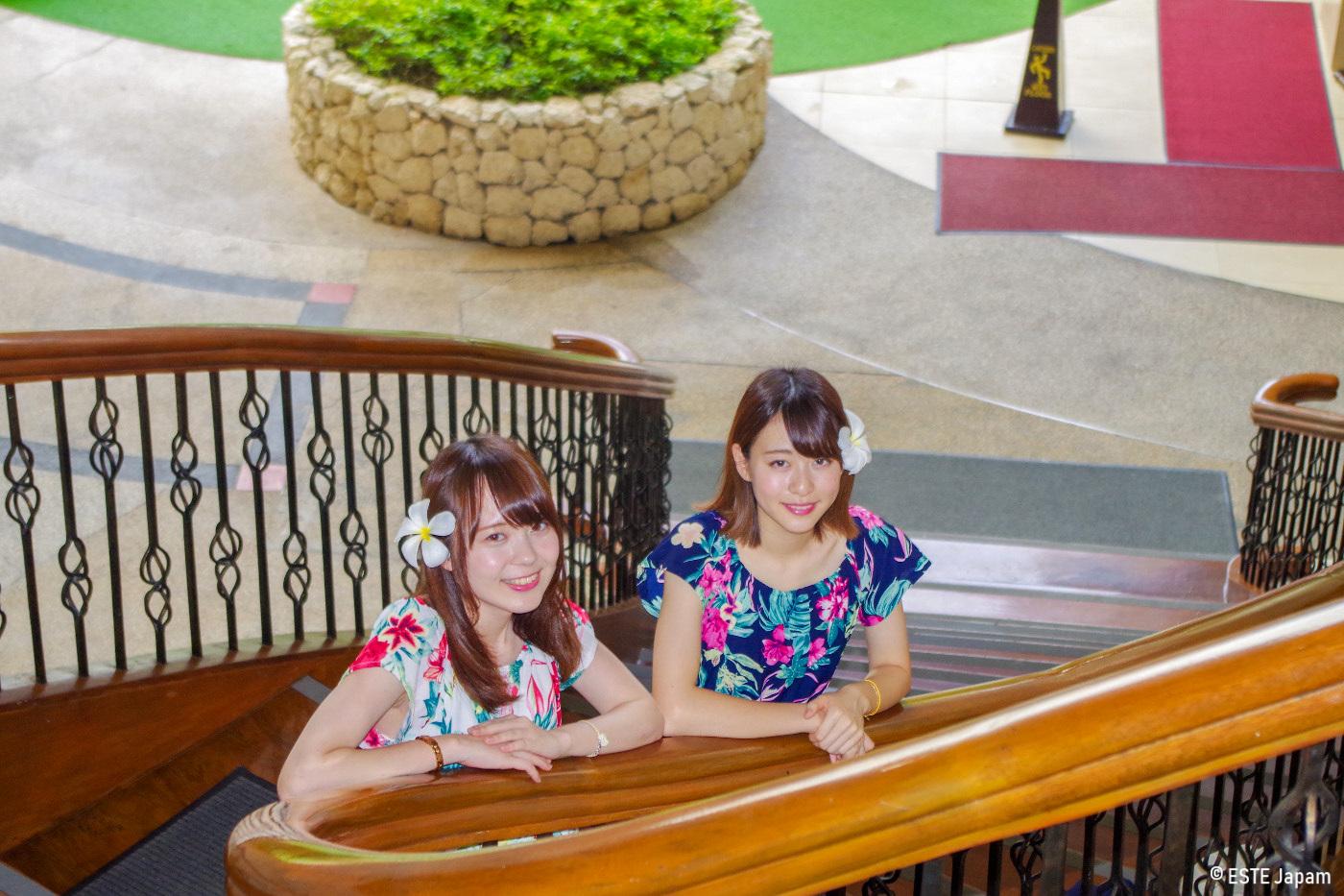 日本人ガイドを利用した女性2名