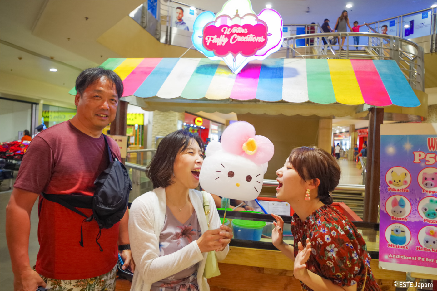 日本人ガイドを利用して市内観光をした家族