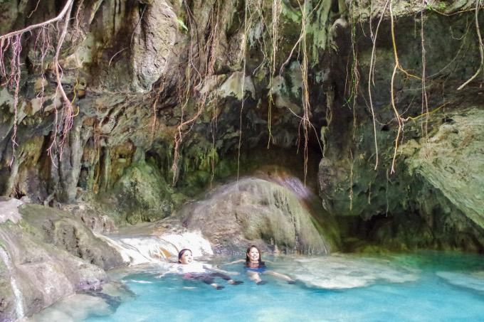イソイ温泉でのんびりしている事がイメージできる画像