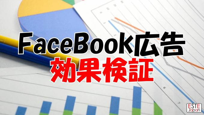 FaceBook広告の効果検証のサムネイル画像