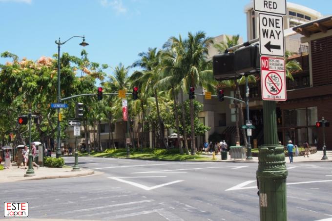 ハワイの街並み2
