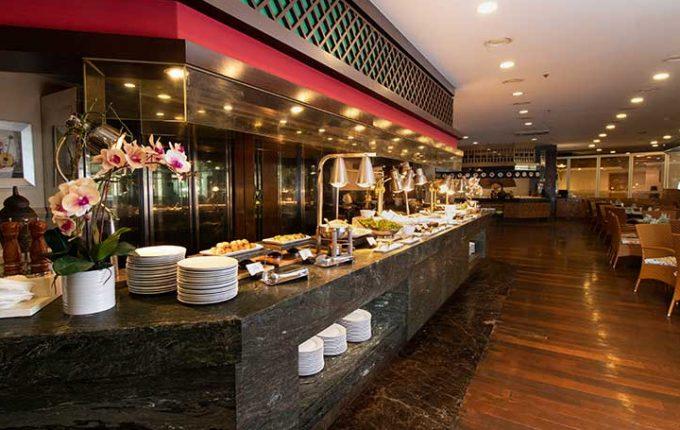 ジェイパークホテルのメインレストラン