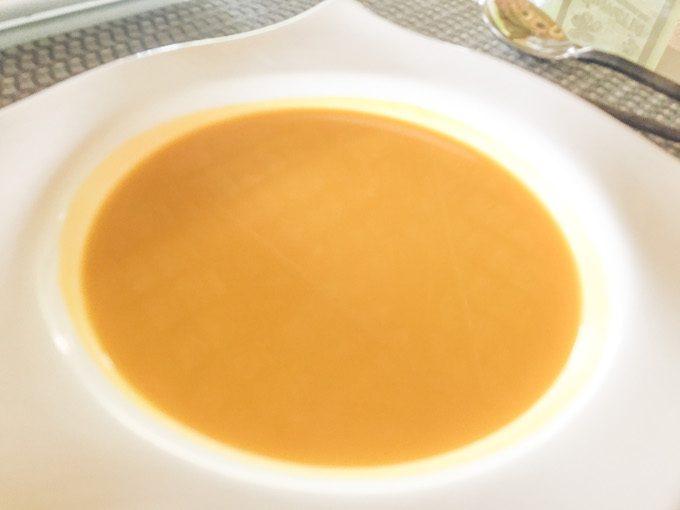 エコスパのかぼちゃのスープの写真