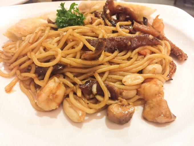 ムーンカフェのスパゲティーがイメージできる画像