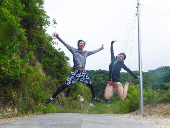 ジャンプショットがイメージできる写真