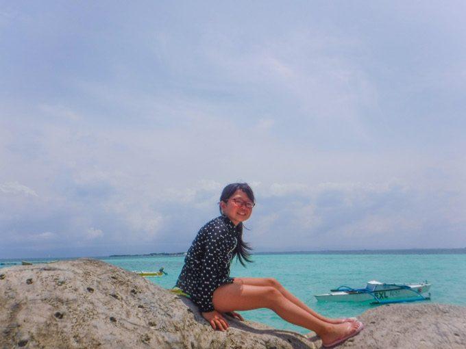 韓流アイランドホッピングでナルスアン島での写真2