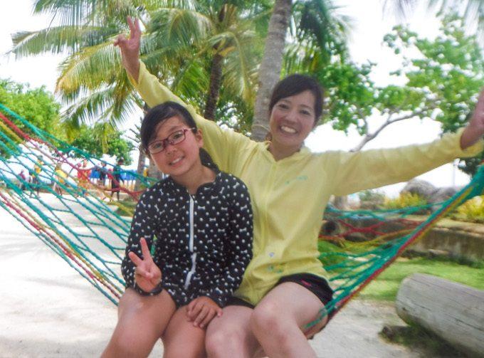韓流アイランドホッピングでナルスアン島での写真