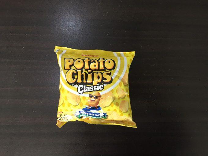 ポテトチップスの写真