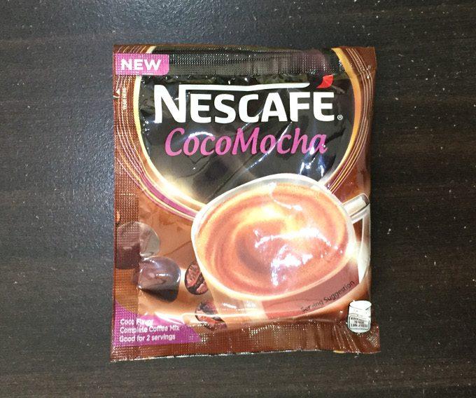ネスカフェ粉末コーヒーのココモカ味の写真