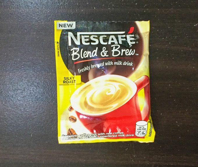 ネスカフェ粉末コーヒーのシルクロースト味の写真