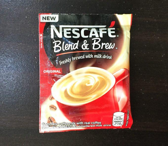 ネスカフェ粉末コーヒーのオリジナル味の写真