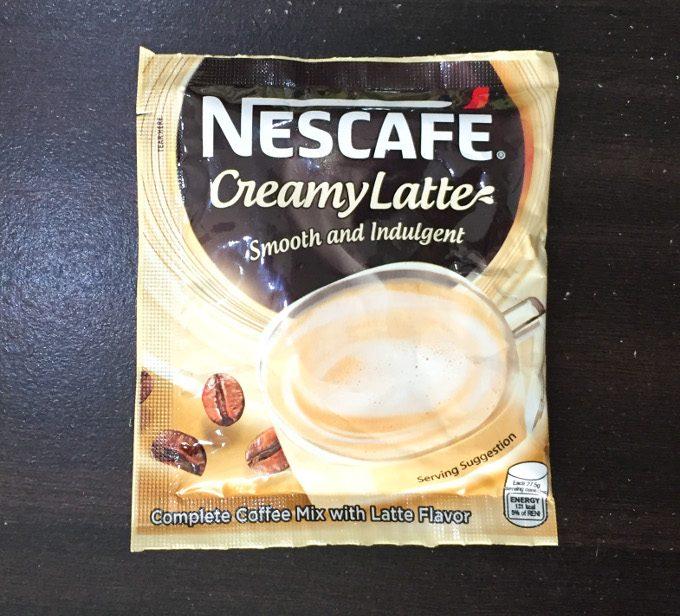 ネスカフェ粉末コーヒーのクリーミーラテ味の写真