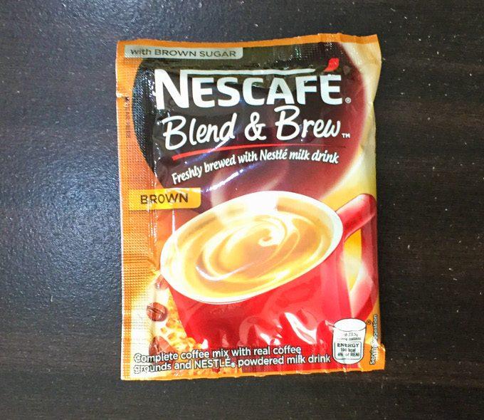 ネスカフェ粉末コーヒーのブラウン味の写真