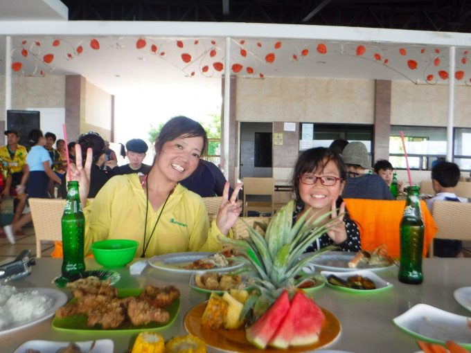 韓流アイランドホッピングのランチの写真