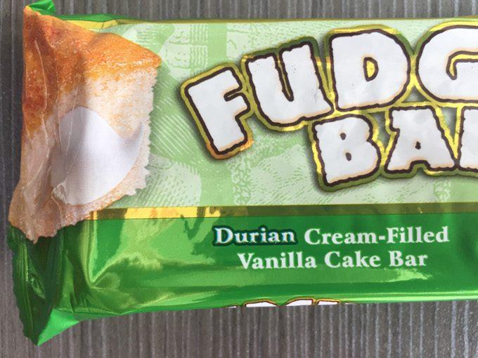 ファッジバーのドリアン味の写真