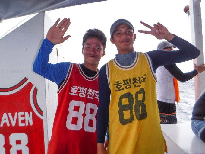 韓流アイランドホッピングのスタッフの写真