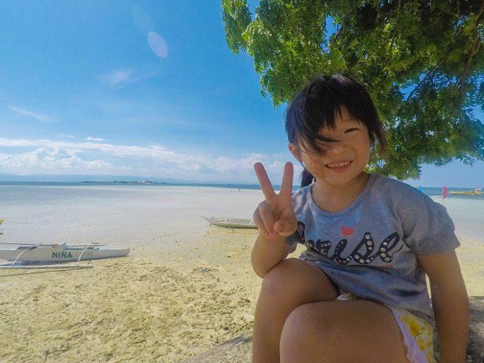 韓流ホッピングのナルスアン島での写真