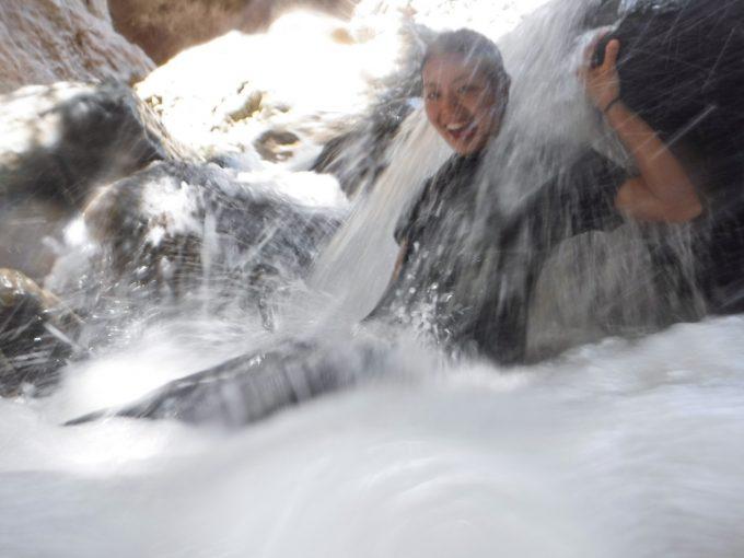 滝マッサージの写真