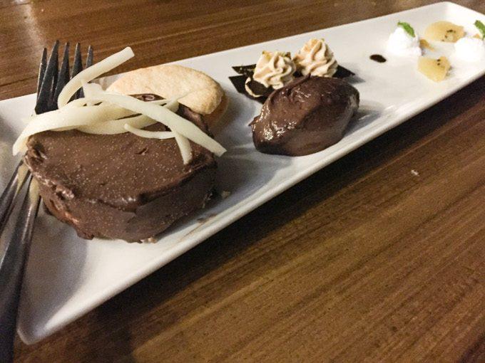 ダブルマンゴークリームのチョコレートベイリーズの写真