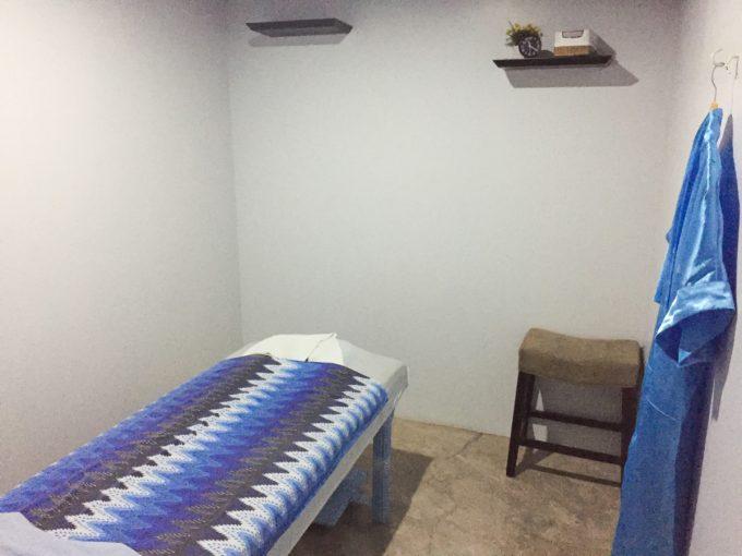 アヴァロンスパの個室の写真