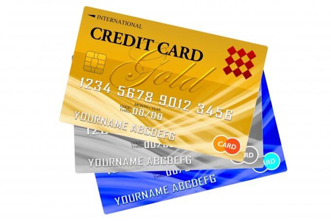 クレジットカードのサンプル写真