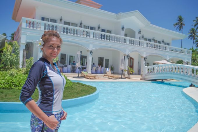ホテルカサブランカで撮影を楽しむイメージができる写真