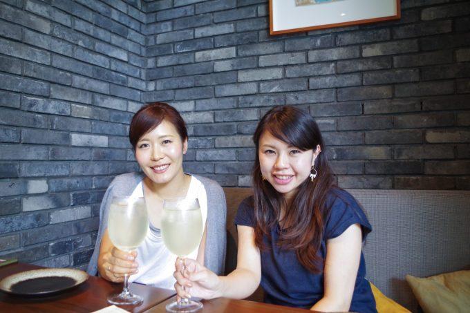 2名の女性のお客様の写真
