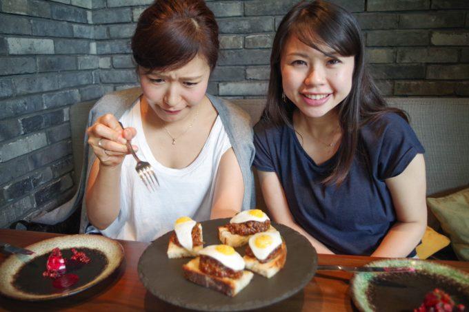 ピグ&パームの料理の写真2