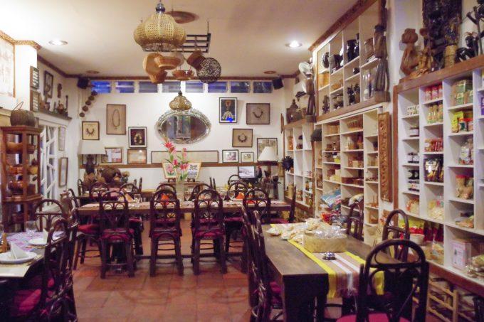 アバセリアカフェの店内の写真
