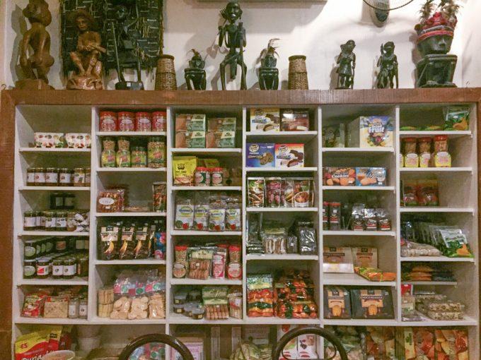 アバセリアカフェのお土産の写真