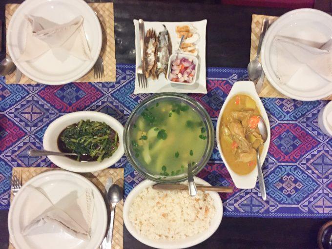 アバセリアカフェの料理の写真