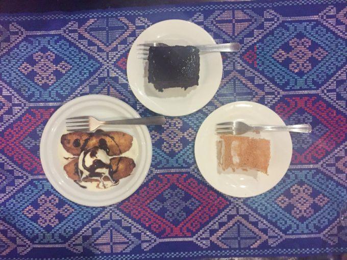 アバセリアカフェのデザートの写真