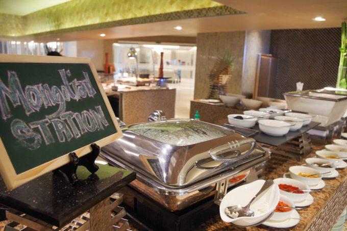 モンゴリアン料理セクションの写真