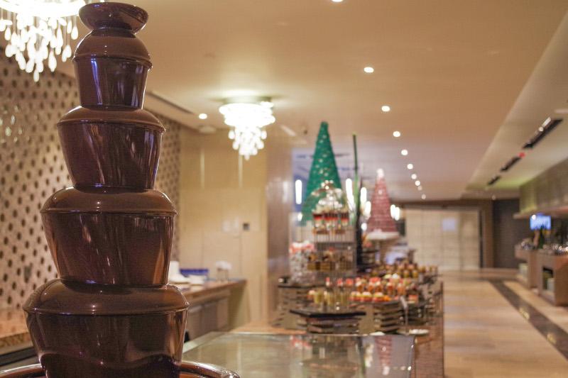 バイホテルのデザートブュッフェの写真